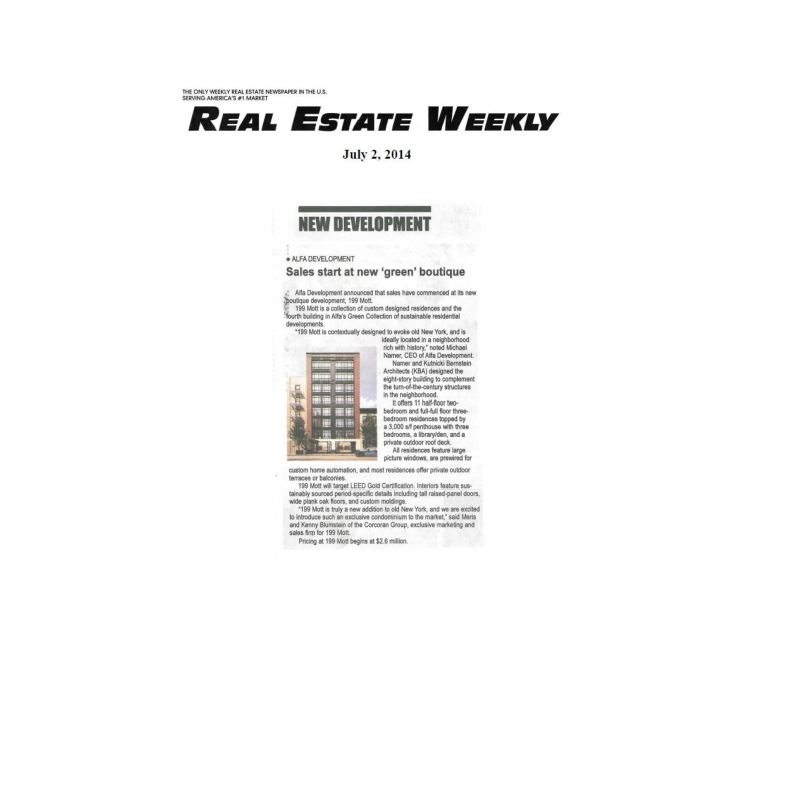 07-02-14 Real Estate Weekly